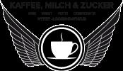 Kaffee, Milch & Zucker Logo