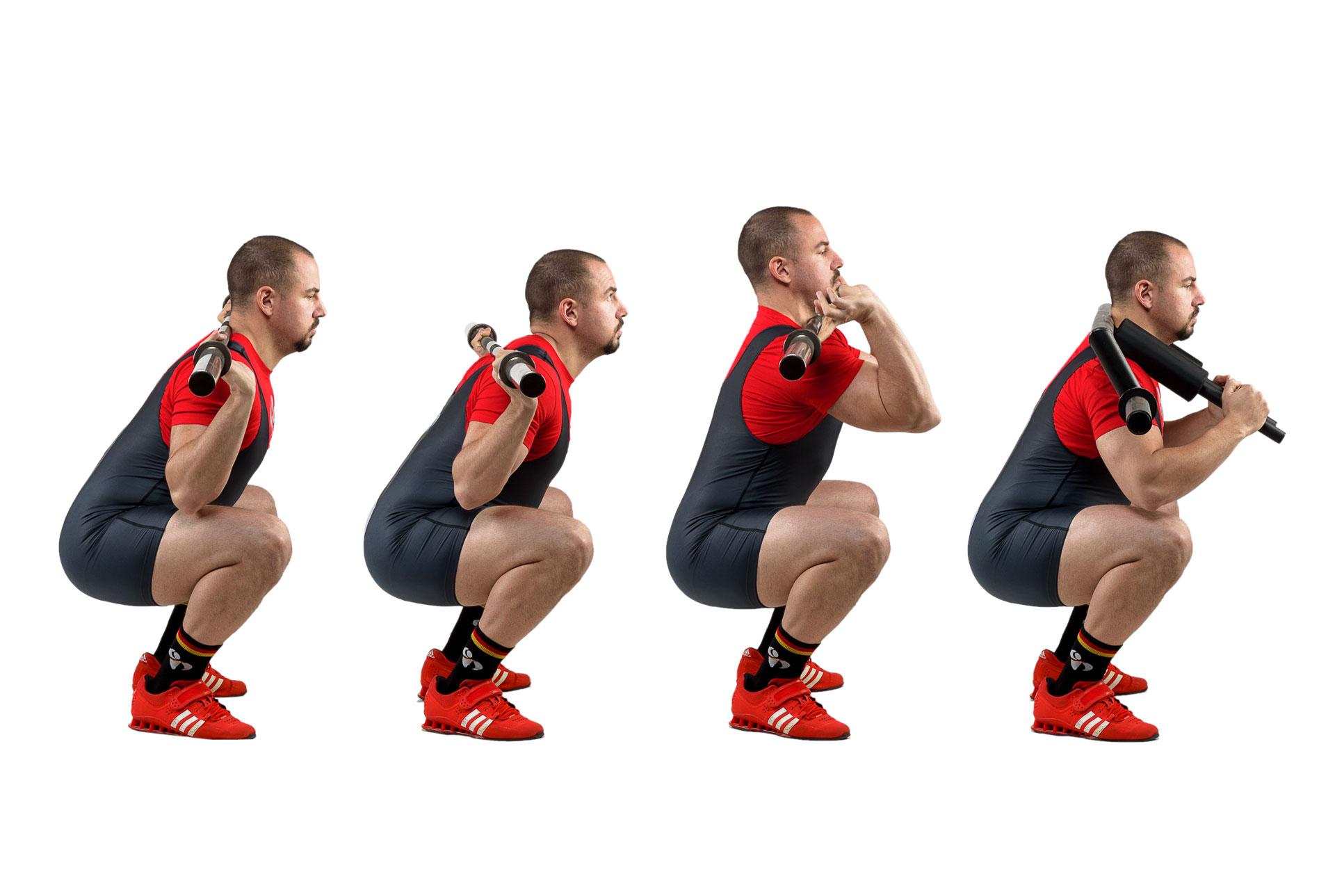 Arten der Kniebeugen