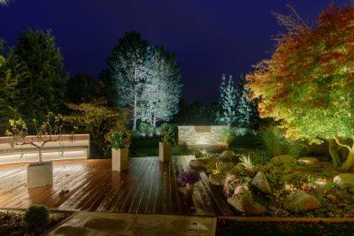 Architekturfotografie / Lichtfotografie / Blaue Stunde / Studio DL