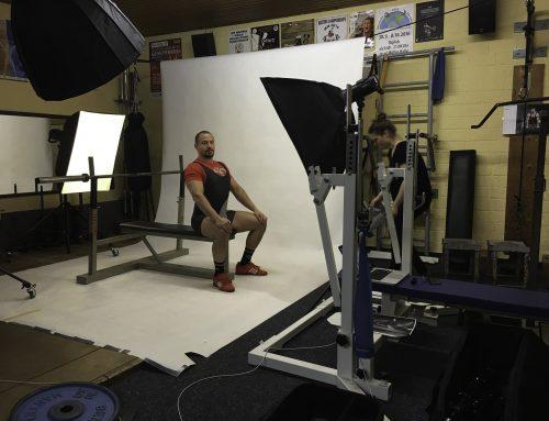 Schulungsfotos für die Powerlifting Academy