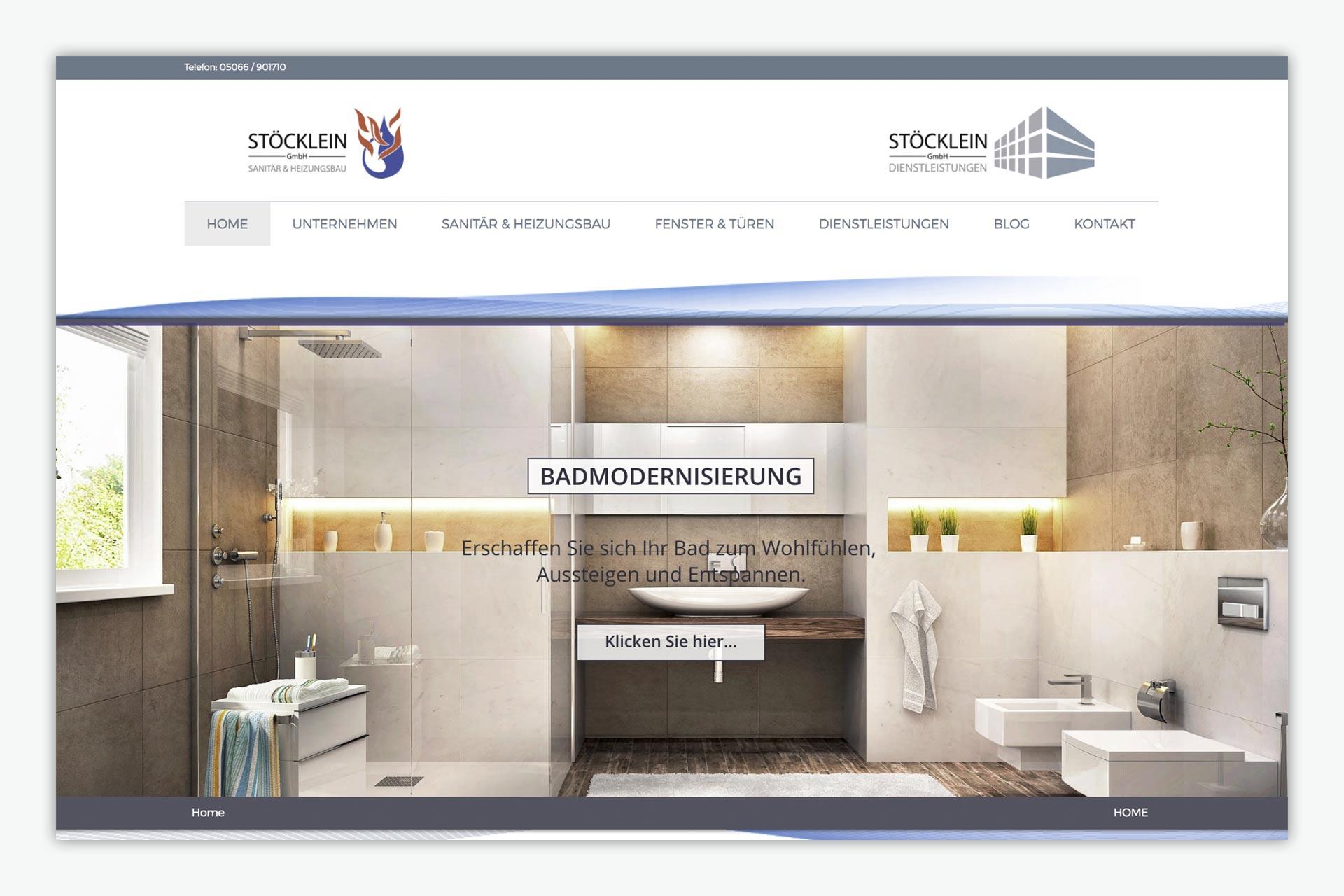 Stöcklein GmbH / Website