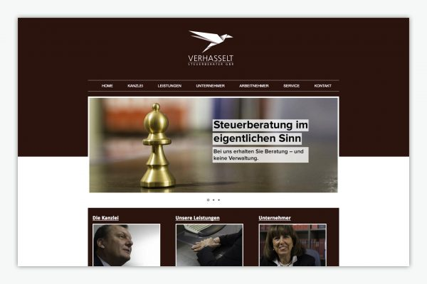 Verhasselt / Website